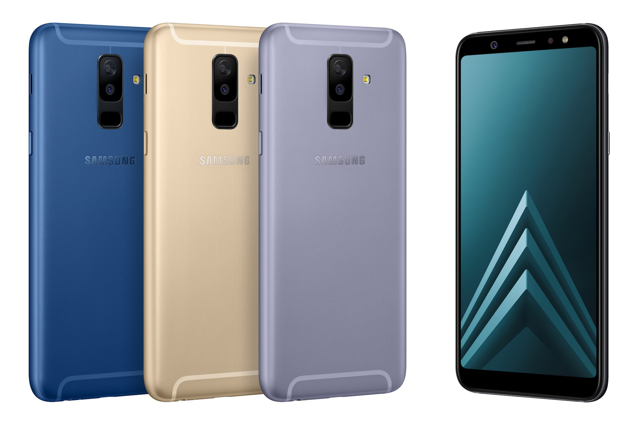 samsung introduces the galaxy a6 and a6 stylish phones. Black Bedroom Furniture Sets. Home Design Ideas