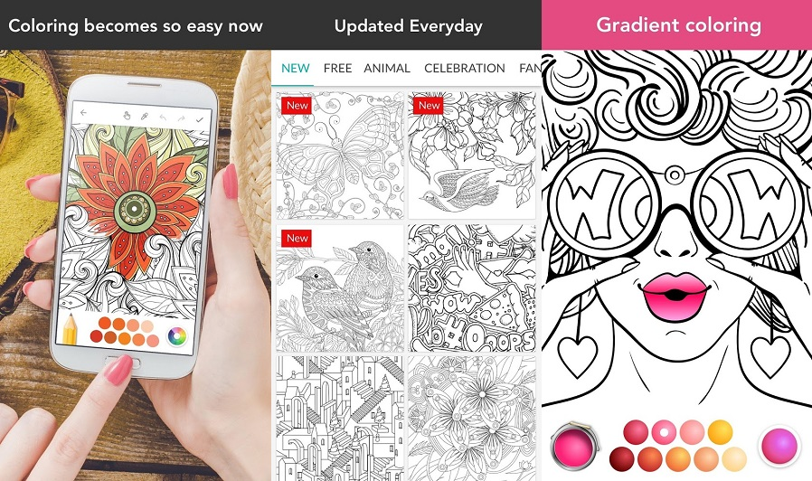 Seven Best Adult Coloring Book Apps For Android To Help You De Stress
