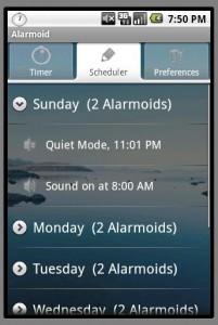 AlarmoidScheduler