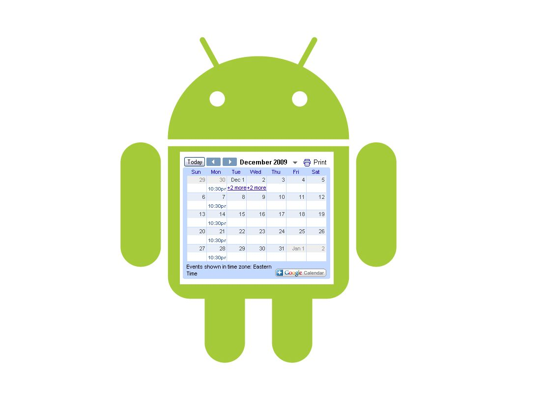 UpTo vs. Sunrise vs. Today Calendar: Which new Android ...