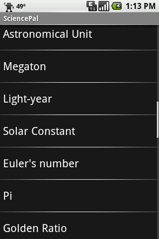 App review sciencepal since then the app has expanded and now consists of four sections periodic table constants polyatomic ions and solar system urtaz Gallery