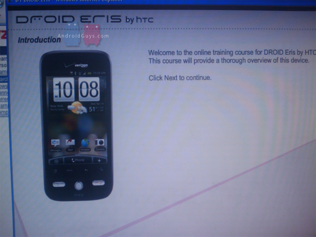 droid_eris_training