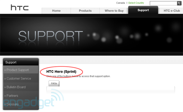 htc-hero-sprint-support-page