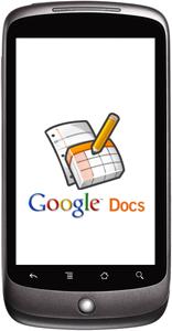 docs nexus one - Google Docs Mobile vai ter edição