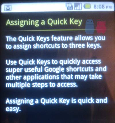 T-Mobile G2 Keyboard Gets a Close-Up Revealing Quick Key Shortcuts.