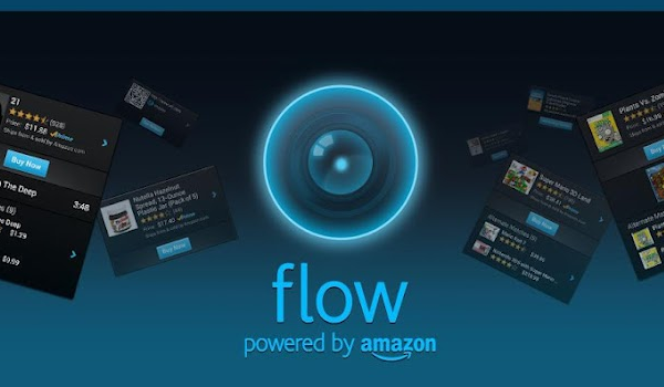 Amazon's Flow blends barcode scanning, QR codes, and