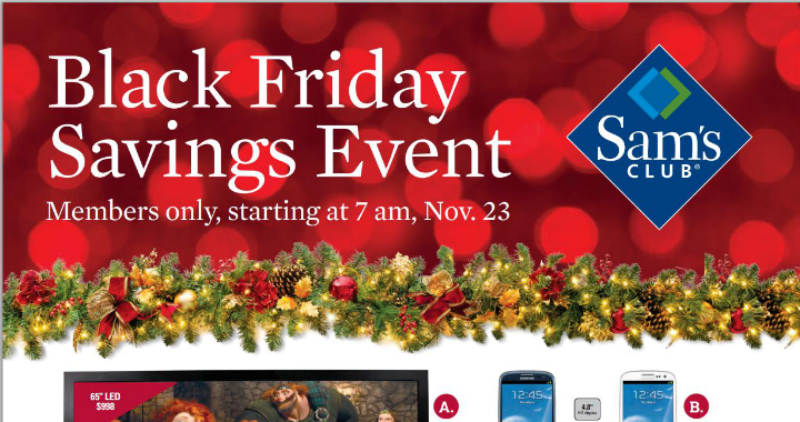 sams club has a number of android based deals for black friday november 23 including the galaxy s iii for less than a dollar - Is Sams Club Open On Christmas Eve