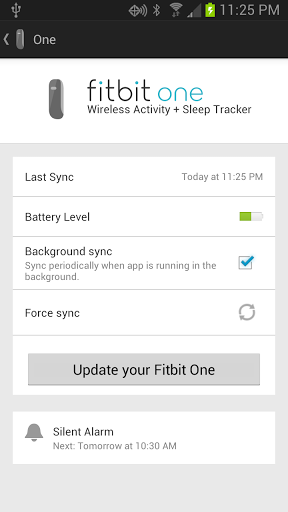 fitbit zip app for android