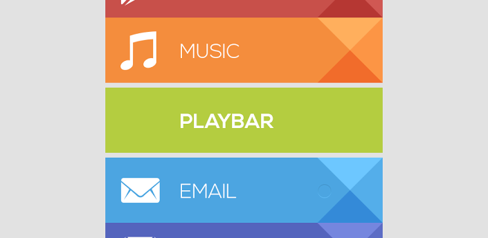 Add a bit of Google Play design to your homescreen with