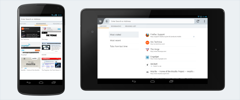 Firefox for Android gets new look and features