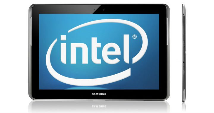 New Super Chips from Intel in Samsung's New Tablet