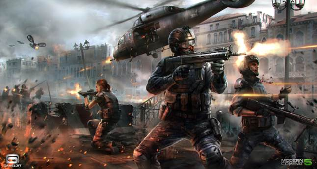 Gameloft will optimize Modern Combat 5 for MediaTek processors