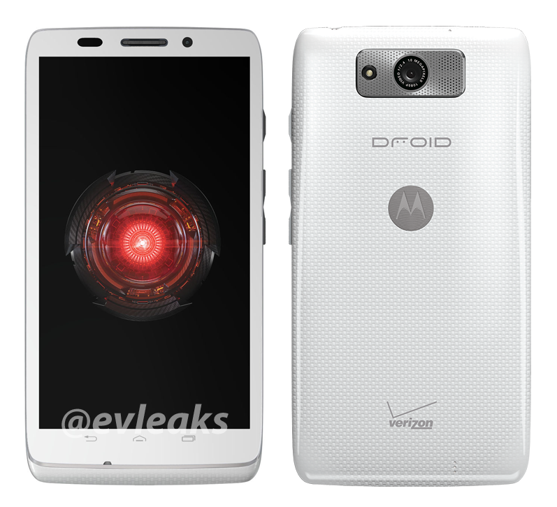 Motorola Droid Ultra Already Shows White