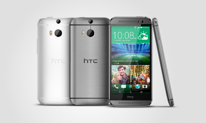 HTC One M8 Gray Silver
