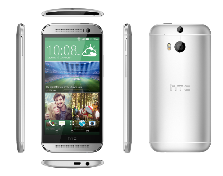 HTC One M8 Silver 2
