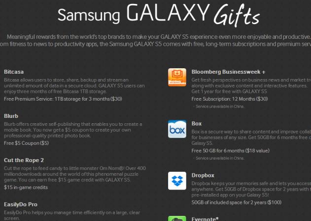 Samsung Galaxy S5: Just Missed