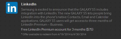 LinkedIn Galaxy Gifts