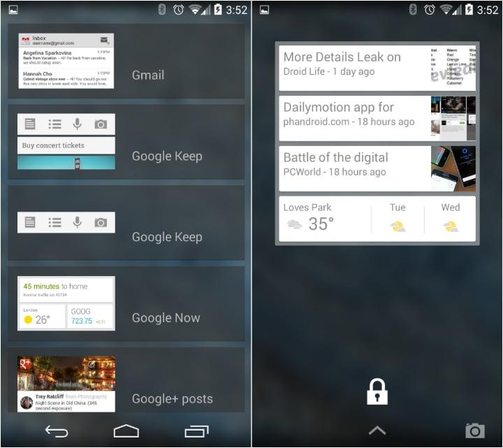 Lock screen widgets 3