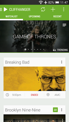 CLIFFHANGER keeps you up to date with your favorite TV shows