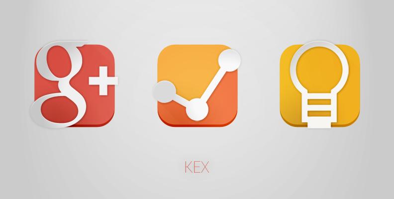 KEX Google Icons