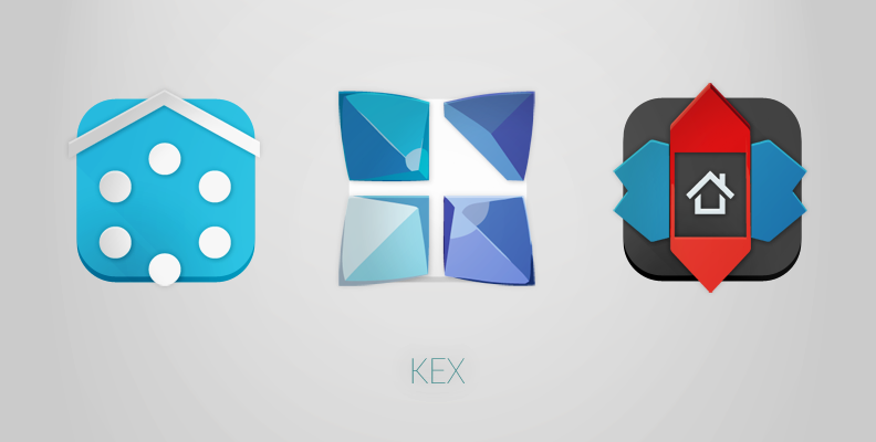 KEX Launcher Icons