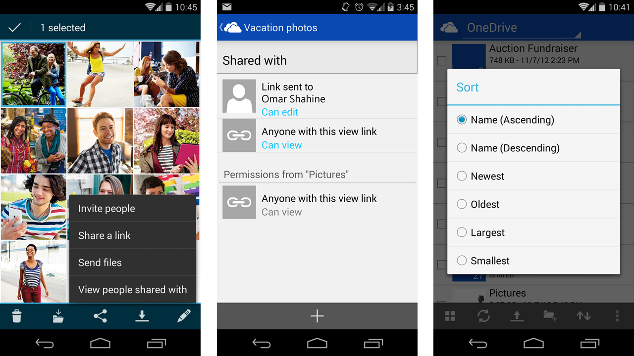 Microsoft updates OneDrive app for Android