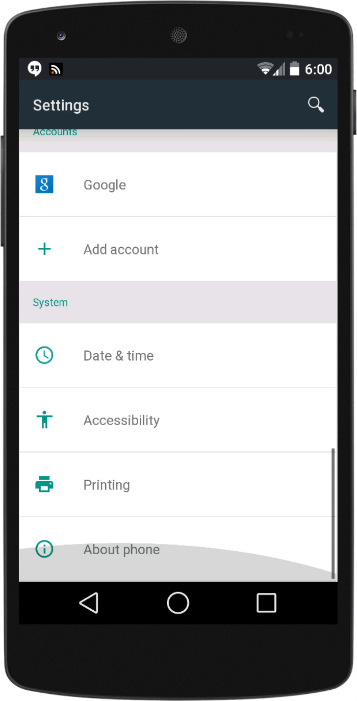 Android L animations