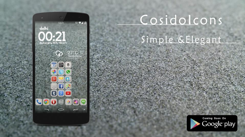 Cosido Icon Banner