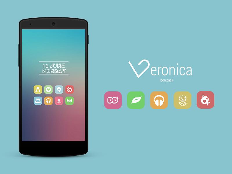 Veronica Icon Banner