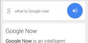 Google Now Search Bar