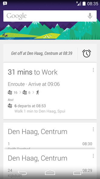 google now train bus____