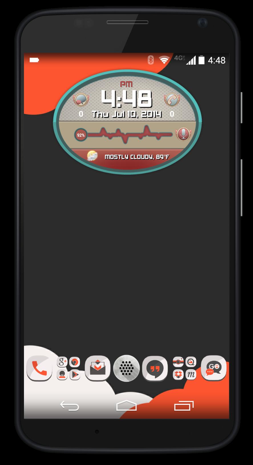 MagmaUI Screenshot