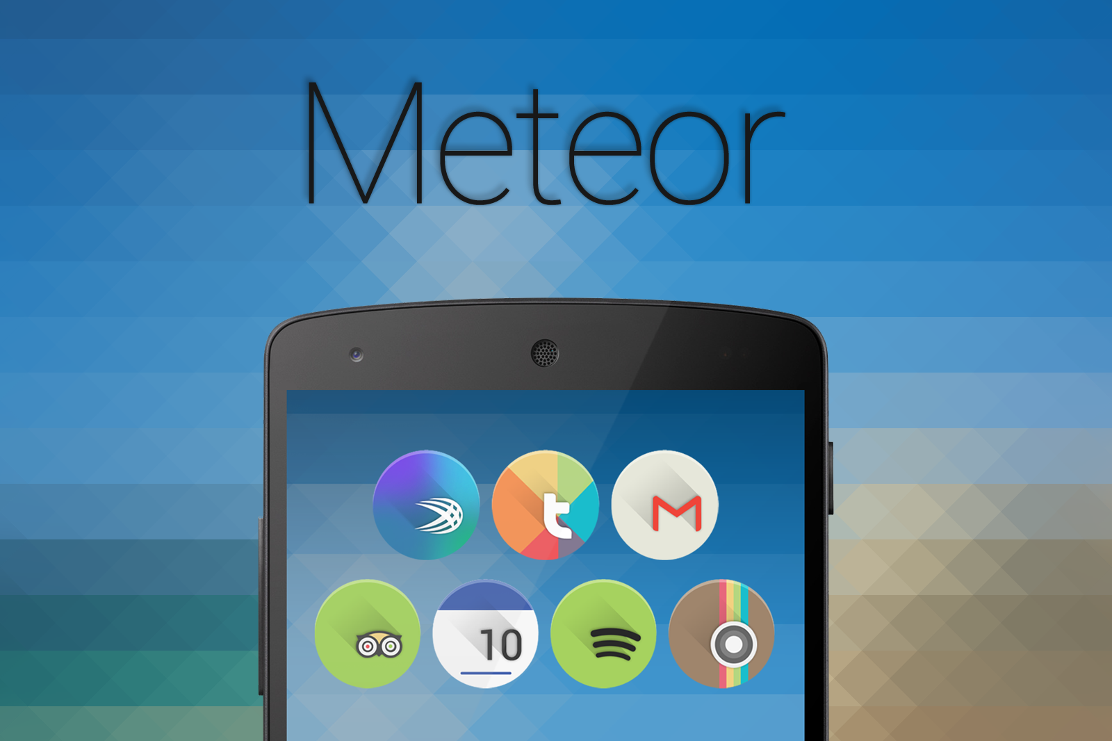 Meteor Icon Banner