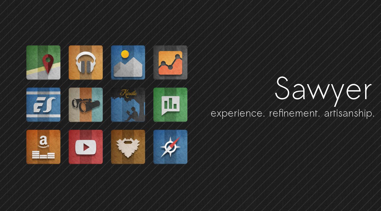 Sawyer Icon Banner