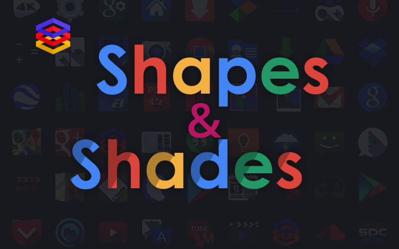 ShapesAndShades Icon Banner