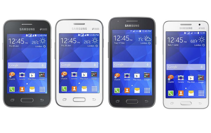 Samsung Intros Four Budget Kitkat Smartphones For