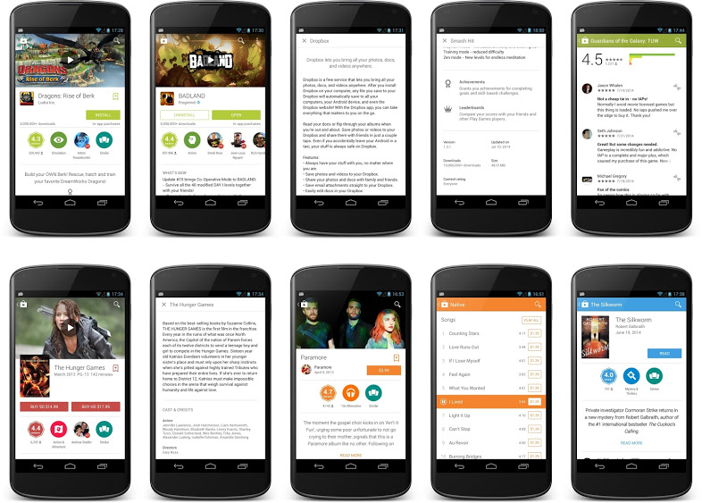 Download and install Google Play Store 4 9 13 aka Material
