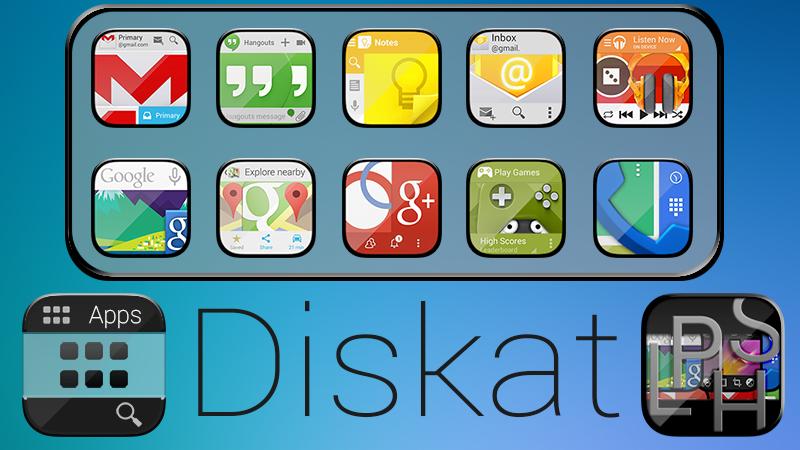 Diskat Icon Banner