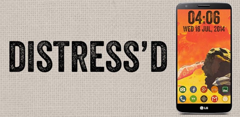Distress'd Icon Banner
