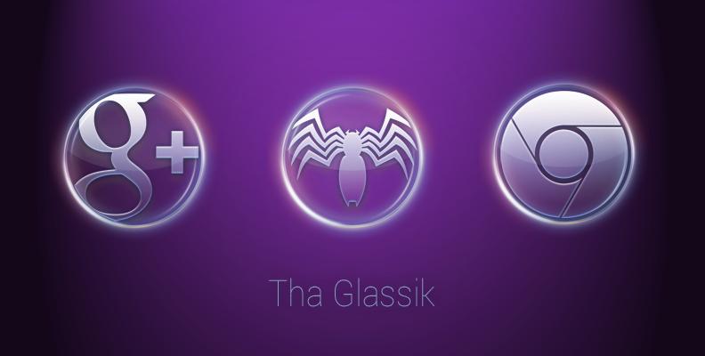 ThaGlassik Icon Banner