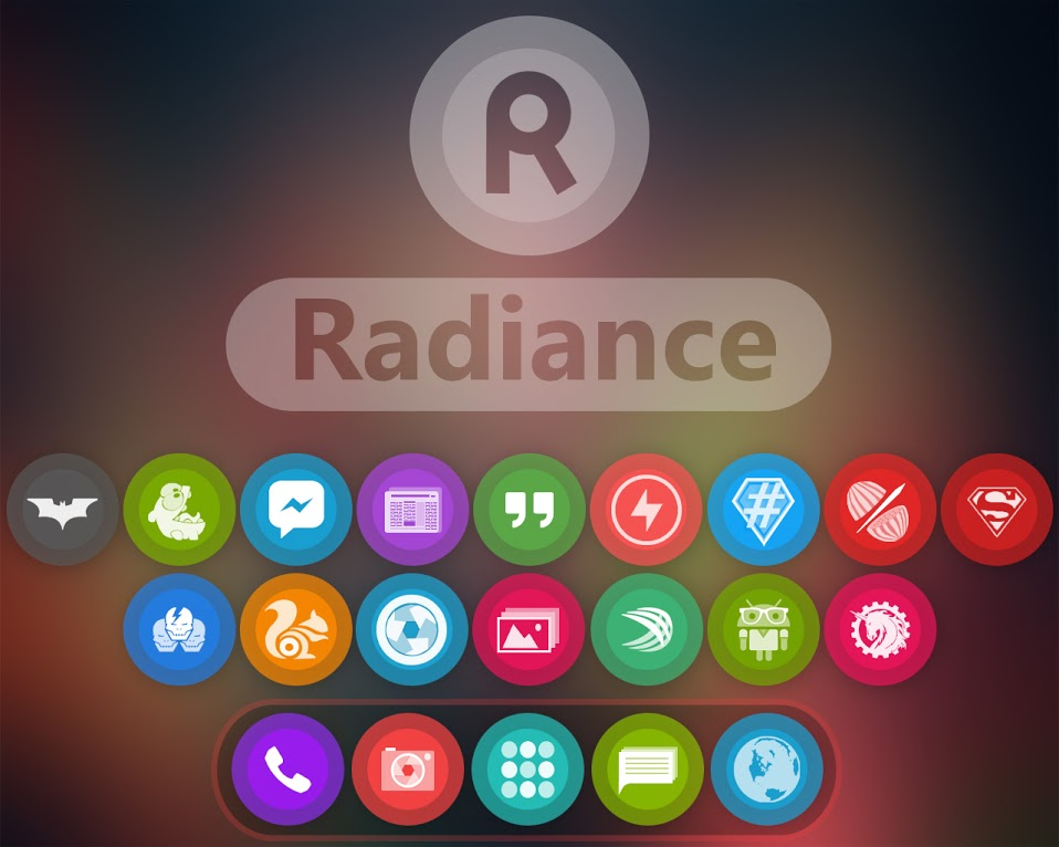 Radiance Icon Banner