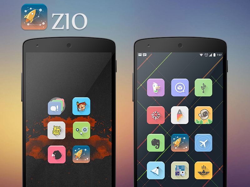 Zio Icon Banner