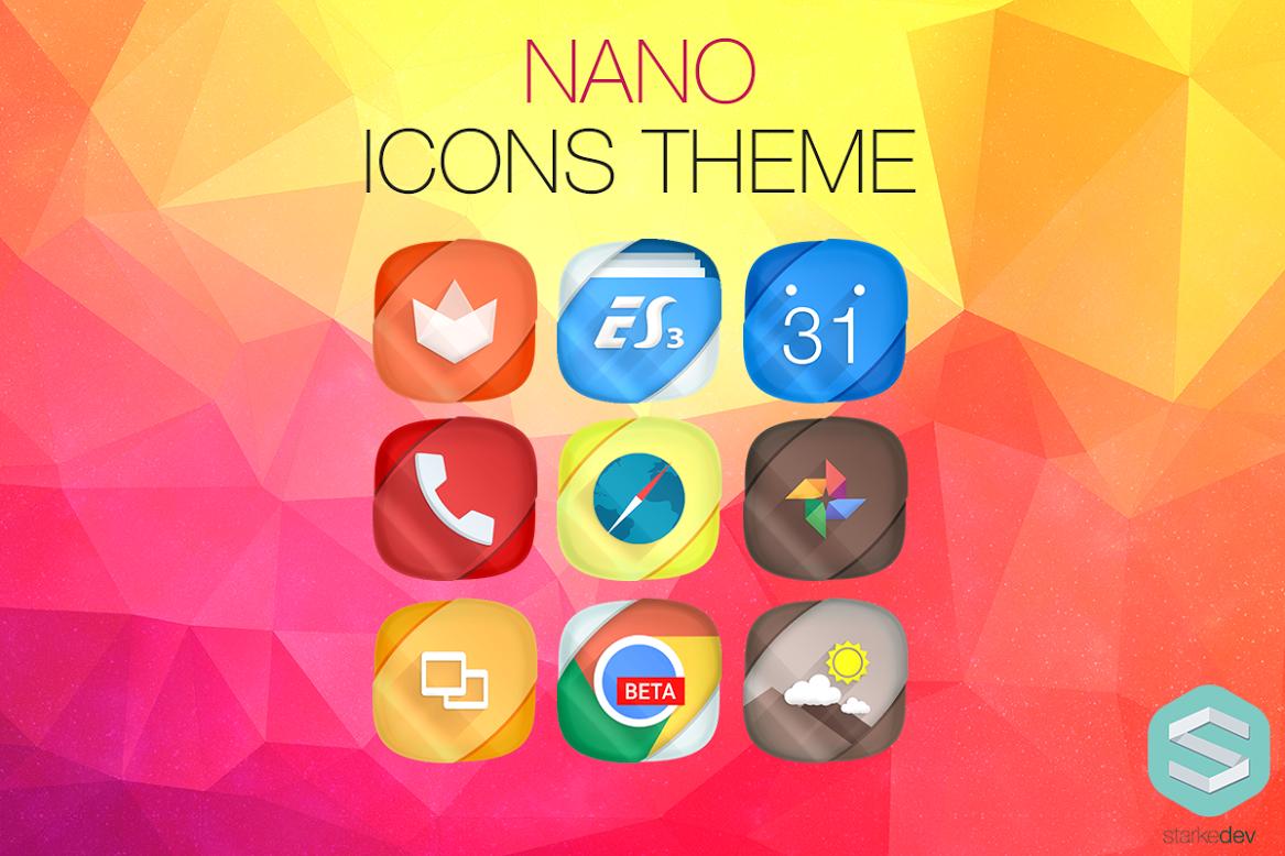 Nano Icons Banner