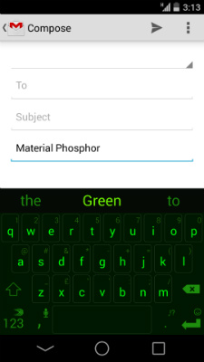 Material-Phosphor-Green-SwiftKey
