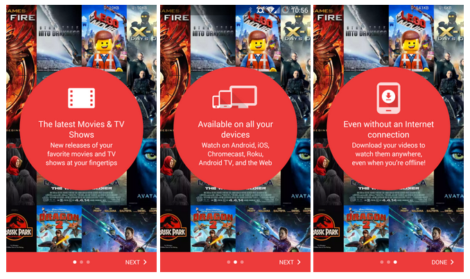Google Play Movies And TV updated to version 3 6 [APK Download]