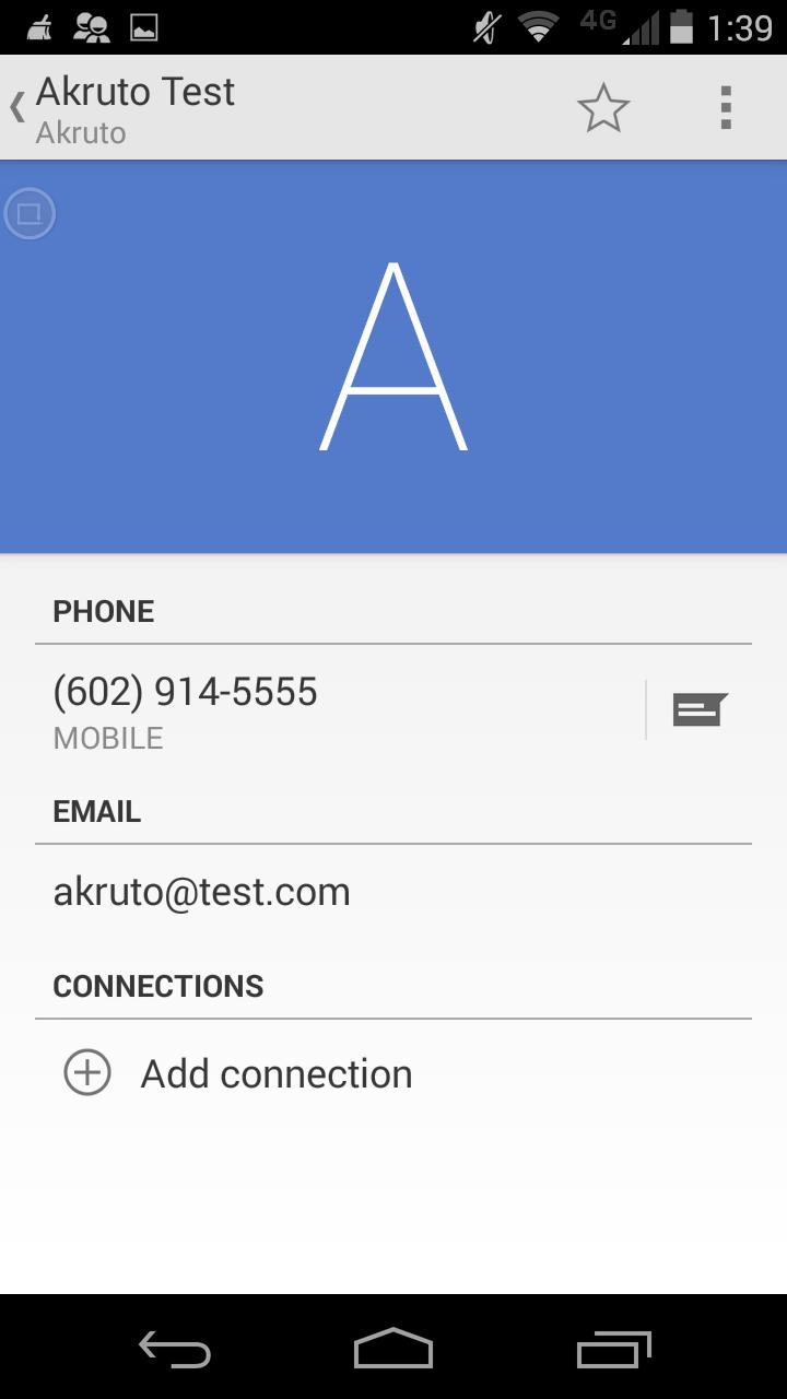 AkrutoSyncPhoneContact