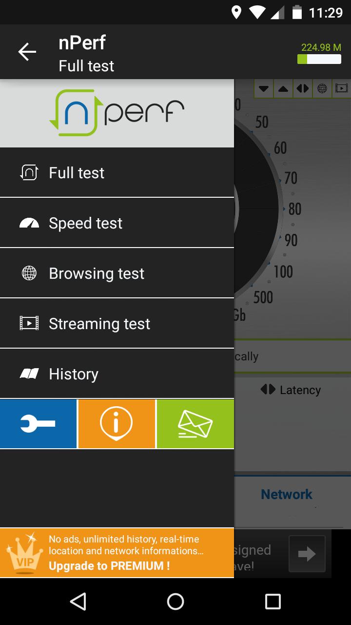 nPerf speed test & QoS 4G WiFi app review