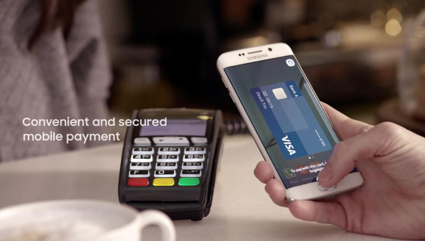 Galaxy S6 edge Samsung Pay