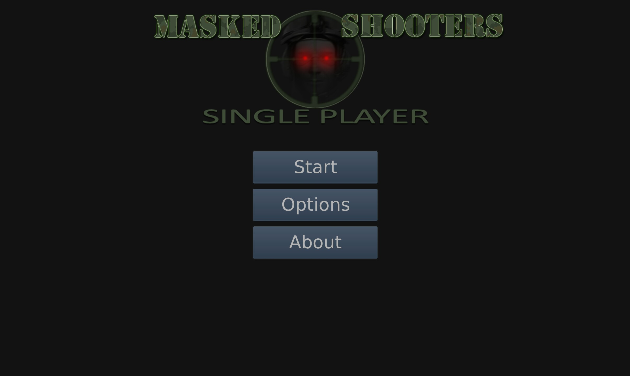 Masked Shooters screen