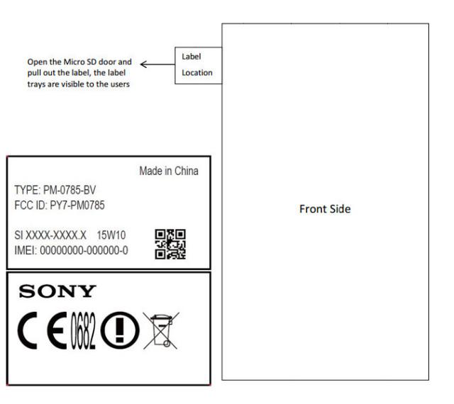 Sony Xperia Z4 FCC